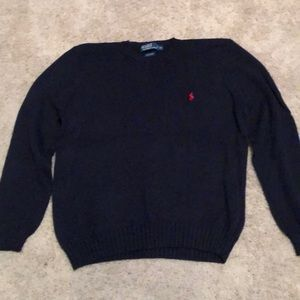 Polo Ralph Lauren navy blue sweater